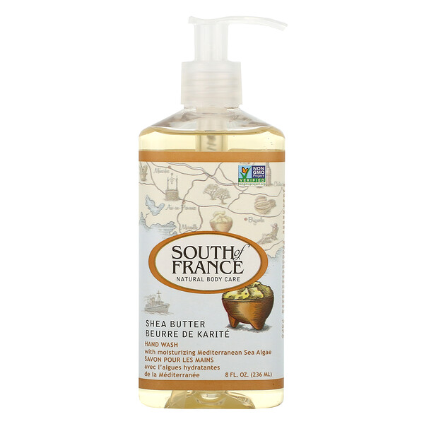 South of France, Hand Wash, Shea Butter, 8 oz (236 ml)