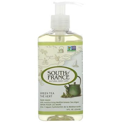South of France Средство для мытья рук с успокаивающим алоэ вера и зеленым чаем, 8 унций (236 мл)
