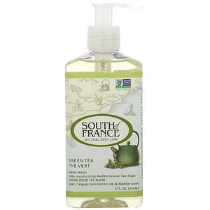 Соут оф Франс, Hand Wash, Green Tea, 8 oz (236 ml) отзывы покупателей