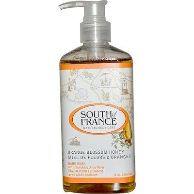 Купить Средство для мытья рук с успокаивающим алоэ вера, соцветиями апельсина и медом, 8 унций (236 мл)