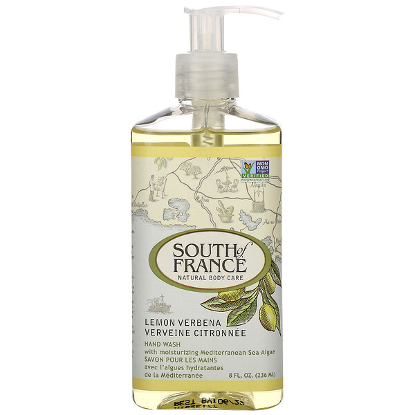 Lemon Verbena, Hand Wash with Soothing Aloe Vera, 8 oz (236 ml)
