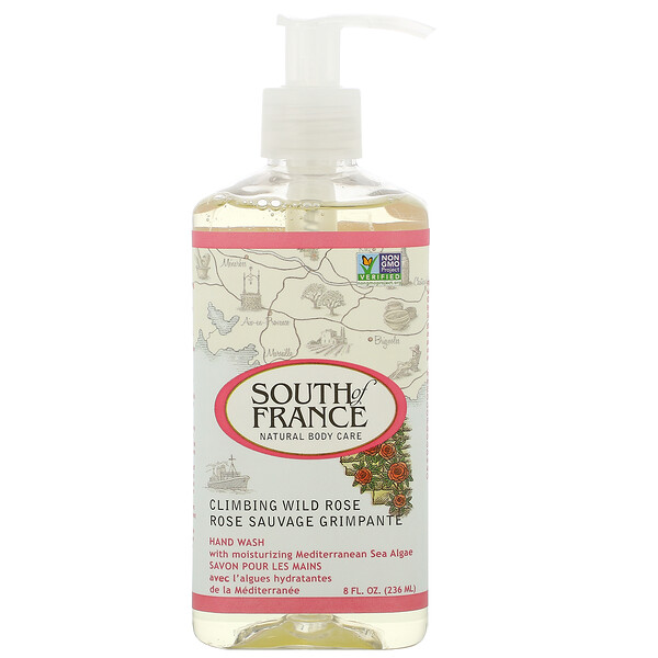 Climbing Wild Rose, Hand Wash with Soothing Aloe Vera, 8 oz (236 ml)
