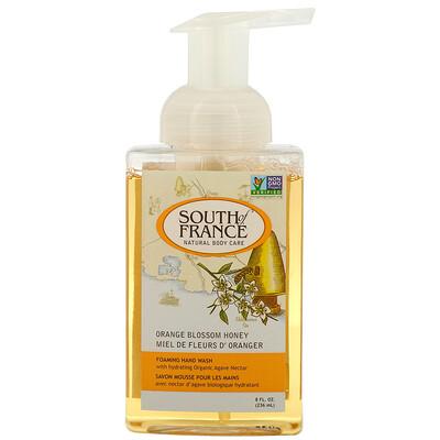 Купить South of France Пенка для мытья рук, цветок апельсин и мед, 8 ж. унц. (236 мл)