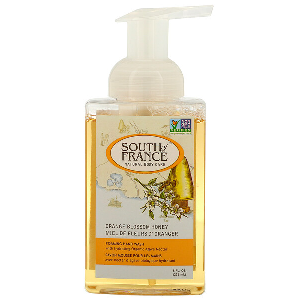 Foaming Hand Wash, Orange Blossom Honey, 8 fl oz (236 ml)