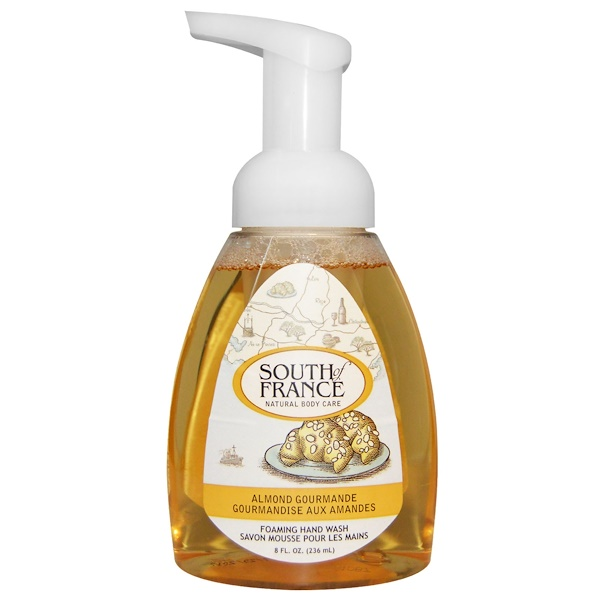 South of France, Foaming Hand Wash, Almond Gourmande, 8 fl oz (236 ml)