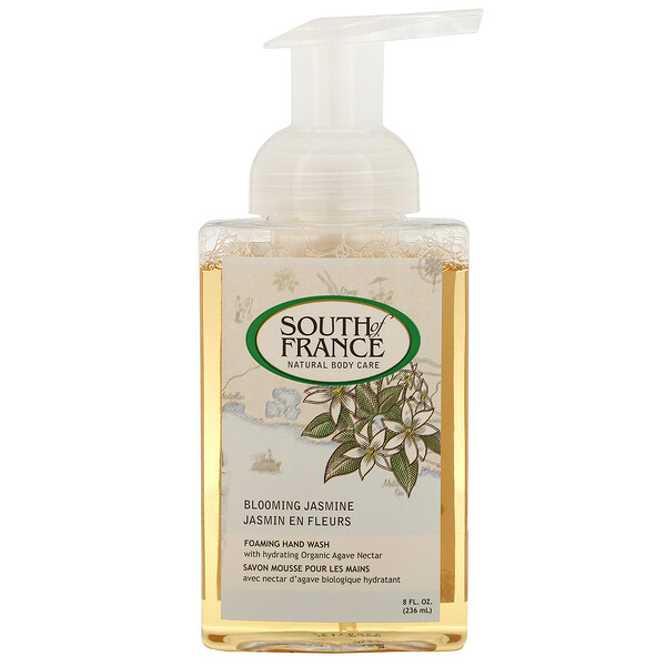 Foaming Hand Wash, Blooming Jasmine, 8 fl oz (236 ml)