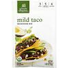 Simply Organic, 温和墨西哥塔可玉米饼混合调味料,12 包,每包 1.00 盎司(28 克)