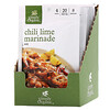 Simply Organic, Chili Lime Marinade Mix, 12 Packets, 1.00 oz (28 g) Each