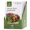 Simply Organic, Citrus Herb Marinade Mix, 12 Packets, 1.00 oz (28 g) Each
