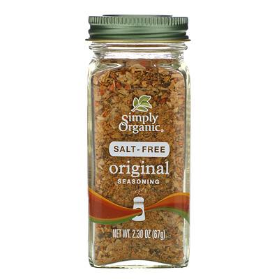 Купить Simply Organic оригинальная приправа, без соли, 67г (2, 30унции)