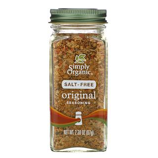 Simply Organic, Condimento original, sin sal, 67g (2,30oz)