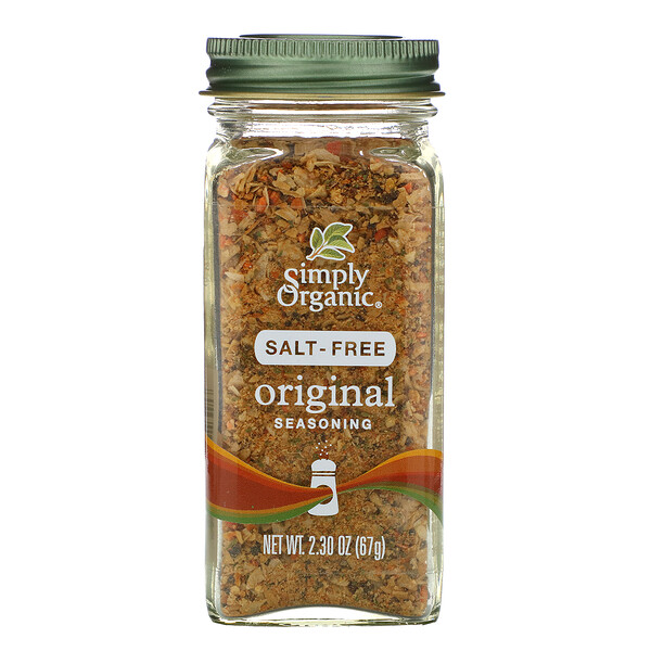 Original Seasoning, Salt-Free, 2.30 oz (67 g)