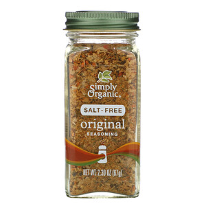 Симпли Органик, Original Seasoning, Salt-Free, 2.30 oz (67 g) отзывы покупателей
