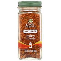 Simply Organic, Spicy Seasoning, Salt-Free, 2.40 oz (69 g)