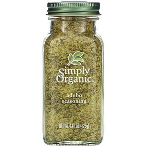 Симпли Органик, Adobo Seasoning, 4.41 oz (125 g) отзывы покупателей