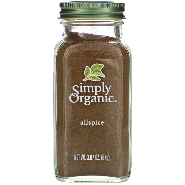 Simply Organic, Allspice, 3.07 oz (87 g) (Discontinued Item)