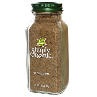 Simply Organic, Cardamom, 2.82 oz (80 g)