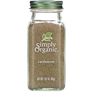 Симпли Органик, Cardamom, 2.82 oz (80 g) отзывы покупателей