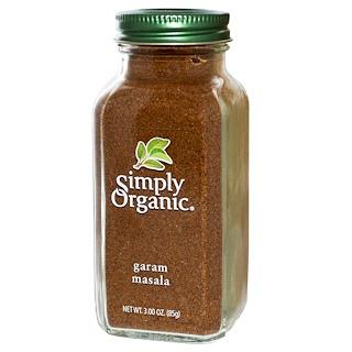 Simply Organic, ガラムマサラ, 3.00 oz (85 g)