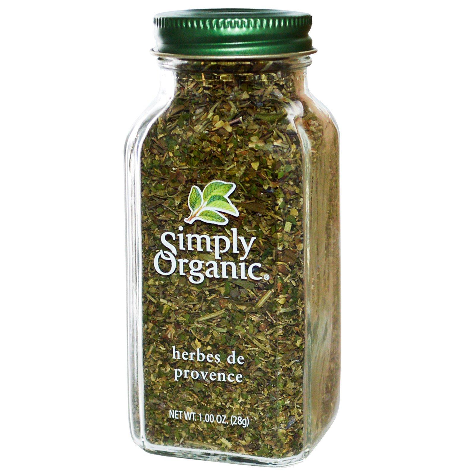 Simply Organic, Прованские травы, 1 унция (28 г)