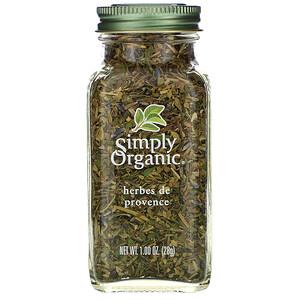 Симпли Органик, Herbes De Provence, 1.00 oz (28 g) отзывы покупателей
