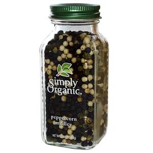 Симпли Органик, Peppercorn Medley, 2.93 oz (83 g) отзывы