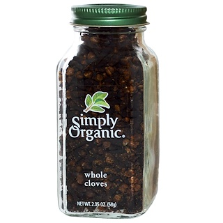 Simply Organic, Whole Cloves, 2.05 oz (58 g)