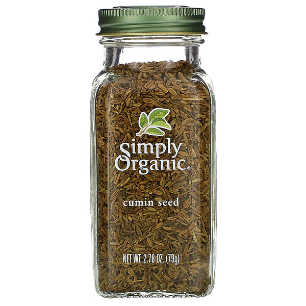 Simply Organic, Cumin Seed, 2.78 oz (79 g) (Discontinued Item)