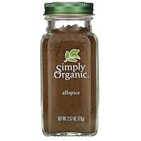 Simply Organic, Allspice, 2.57 oz (73 g)