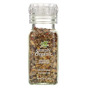Симпли Органик, Adjustable Grinder Cap, Chophouse Seasoning, 3.81 oz (108 g) отзывы покупателей