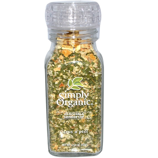 Simply Organic, Citrus A'Peel, 2.54 oz (72 g) (Discontinued Item)