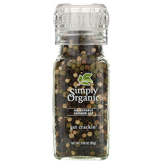 Simply Organic, Get Crackin, Peppercorn Mix, 85 g (3,00 oz)