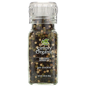 Симпли Органик, Get Crackin, Peppercorn Mix, 3.00 oz (85 g) отзывы покупателей