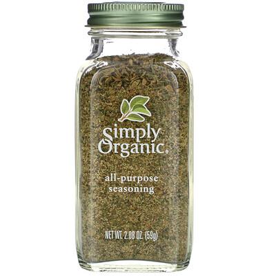 Купить Simply Organic Универсальная приправа, 2, 08 унций (59 г)