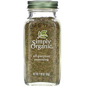 Симпли Органик, All-Purpose Seasoning, 2.08 oz (59 g) отзывы покупателей