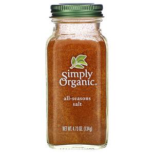 Симпли Органик, All-Seasons Salt, 4.73 oz (134 g) отзывы покупателей
