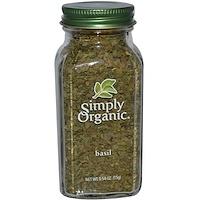 Simply Organic, 바질, 0.54 oz (15 g)