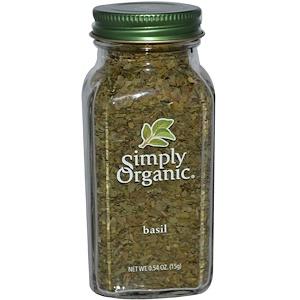 Simply Organicのバジル