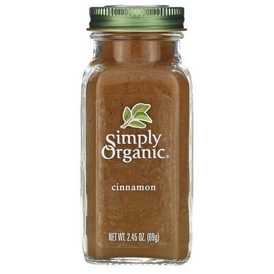 Купить Simply Organic корица, 69г (2, 45унции)