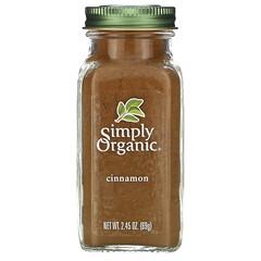 Simply Organic, 肉桂粉,2.45 盎司(69 克)