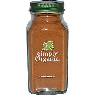 Simply Organic, القرفة، 2.45 أوقية (69 غ)