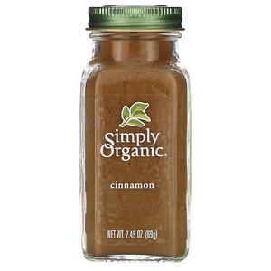 Симпли Органик, Cinnamon, 2.45 oz (69 g) отзывы