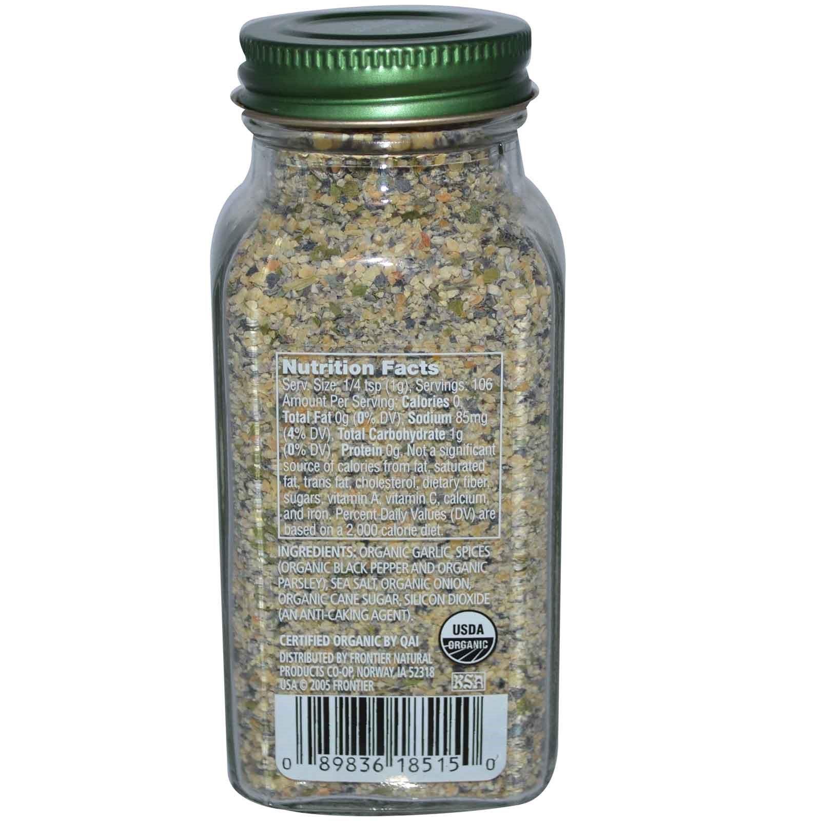 Simply Organic, Чесночный перец, 3,73 унции (106 г)