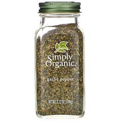 Simply Organic, 有機大蒜胡椒配料,3.73盎司(106克)