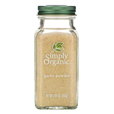 Simply Organic Чесночный порошок, 3,64 унции (103 г)