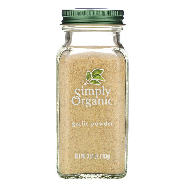 Simply Organic, Garlic Powder, 3.64 oz (103 g)
