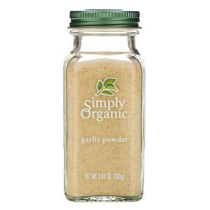 Симпли Органик, Garlic Powder, 3.64 oz (103 g) отзывы