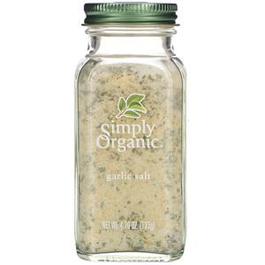 Симпли Органик, Garlic Salt, 4.70 oz (133 g) отзывы покупателей
