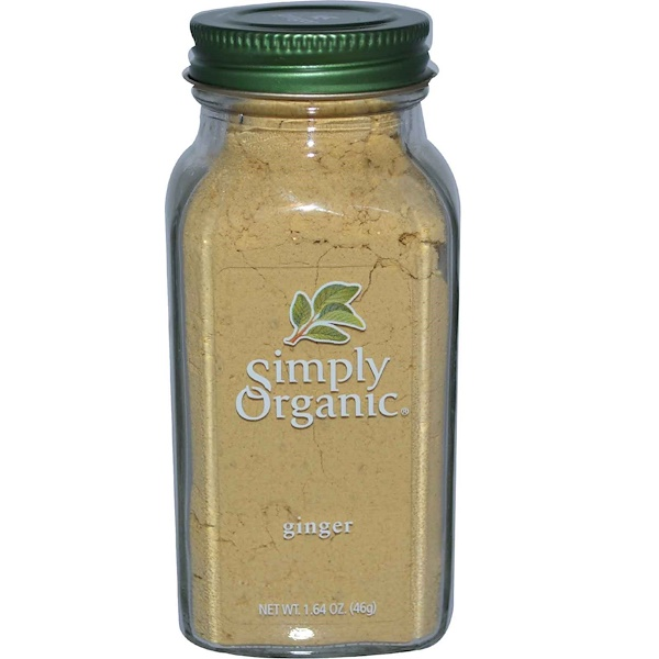 Simply Organic, Ginger, 1.64 oz (46 g)