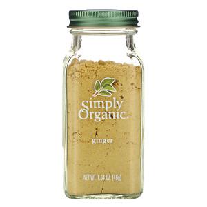 Симпли Органик, Ginger, 1.64 oz (46 g) отзывы